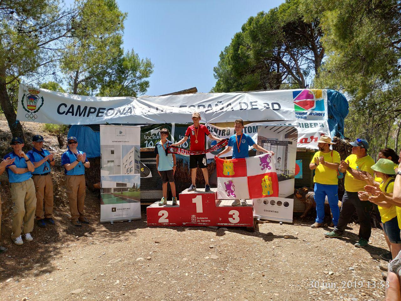 Ibón Prieto campeón de España 3D <14 instintivo